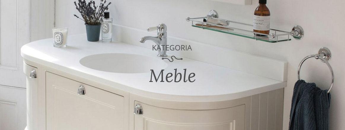 meble łazienkowe retro